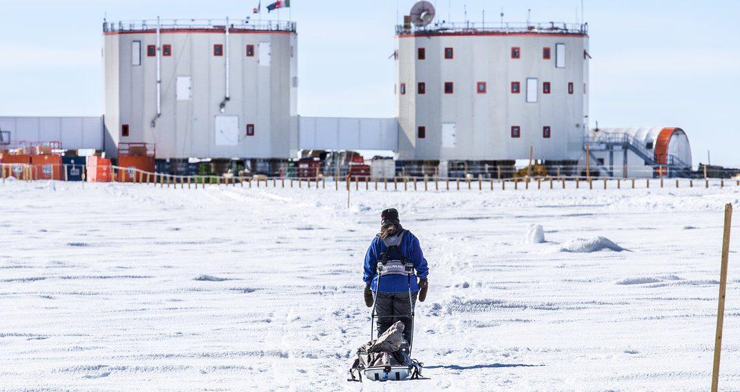 Ils ont trouvé un boulot en Antarctique
