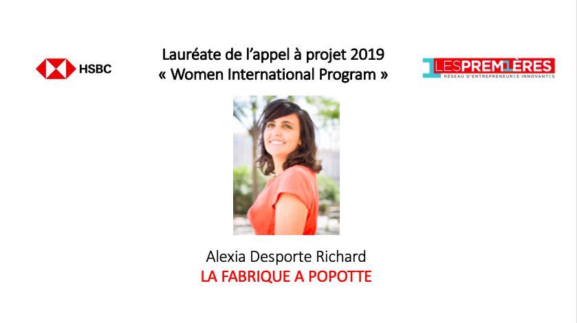 Alexia Desporte Richard - La Fabrique à Popotte