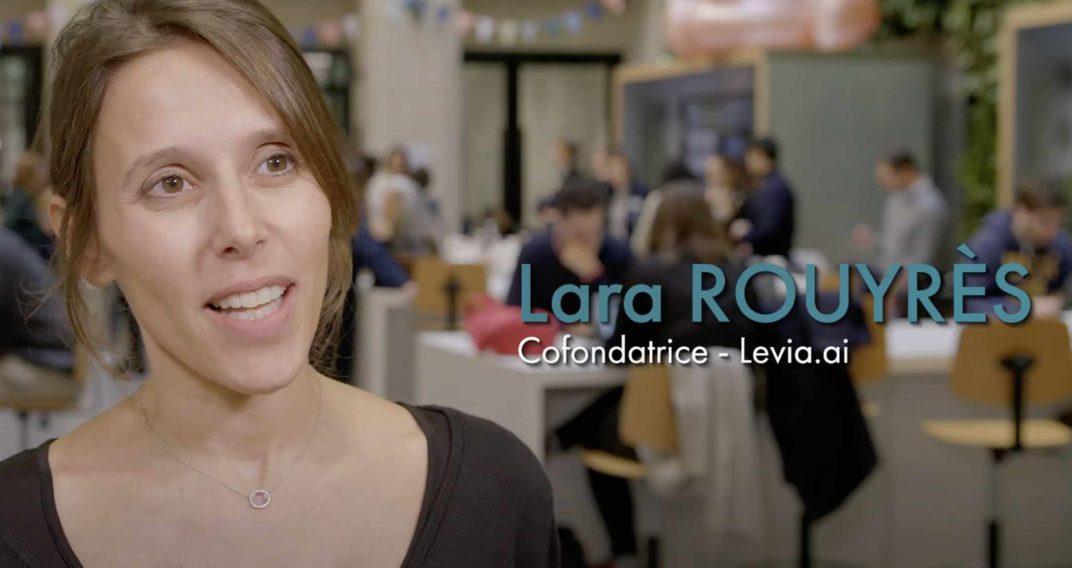 Interview Lara Rouyrès, co-fondatrice de Levia.ai