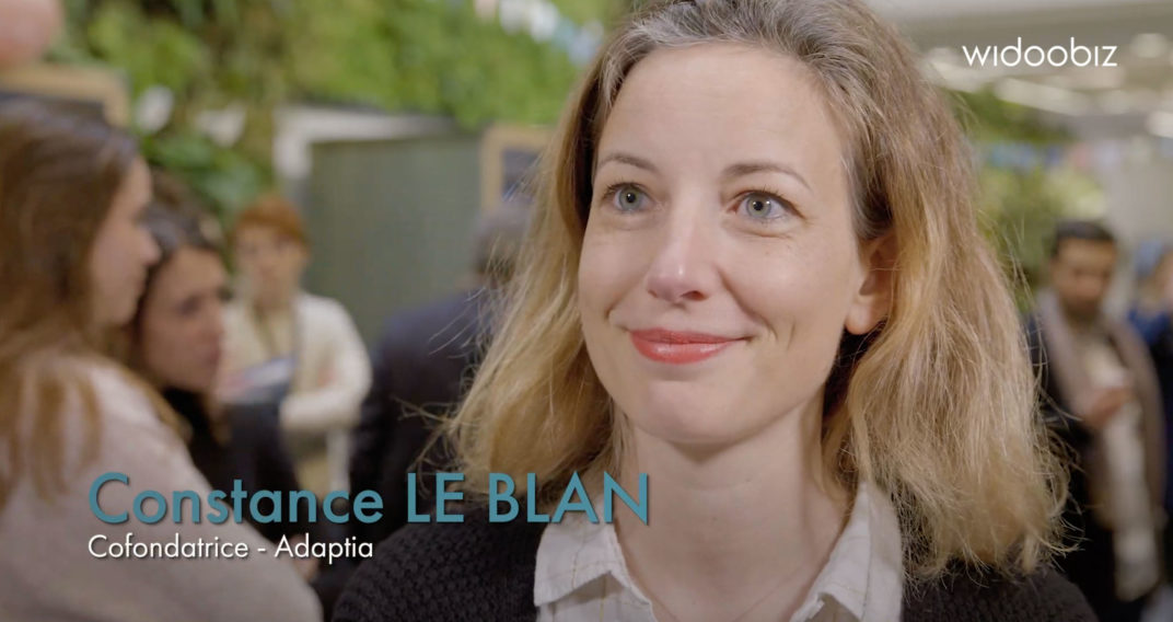 Interview de Constance Le Blan, co-fondatrice d'Adaptia