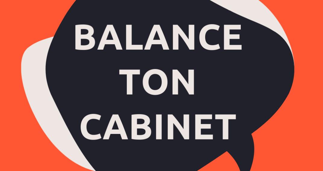 Balance ton cabinet