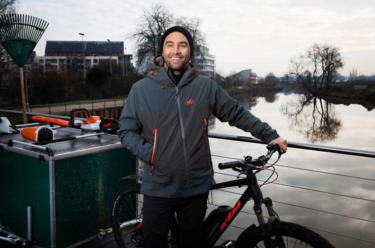 entrepreneurs à vélo
